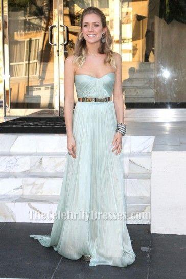 Kristin Cavallari Light Blue Prom Dress Marine Corps Ball ...