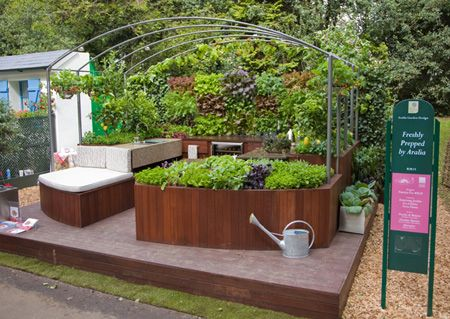 outdoor kitchens with images outdoor herb garden outdoor kitchen rustic outdoor furniture on outdoor kitchen herb garden id=23653