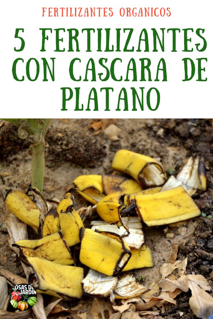 5 Fertilizantes Con Cascara De Plátano Más Frutos Potasio Cosas Del Jardin Plantas De Banano Plantas De Tomate Abono Natural Para Plantas
