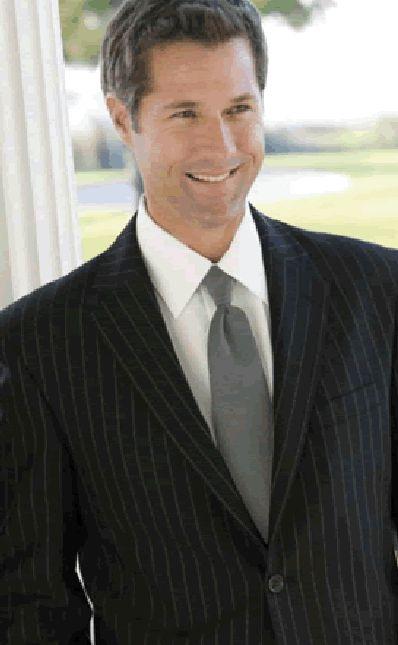 Lord West Chalk Stripe Suit