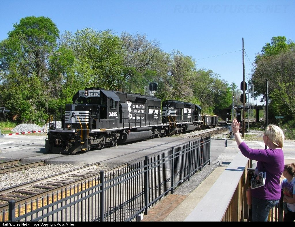 Railpictures Net Photo Ns 3495 Norfolk Southern Emd Sd40 2 At