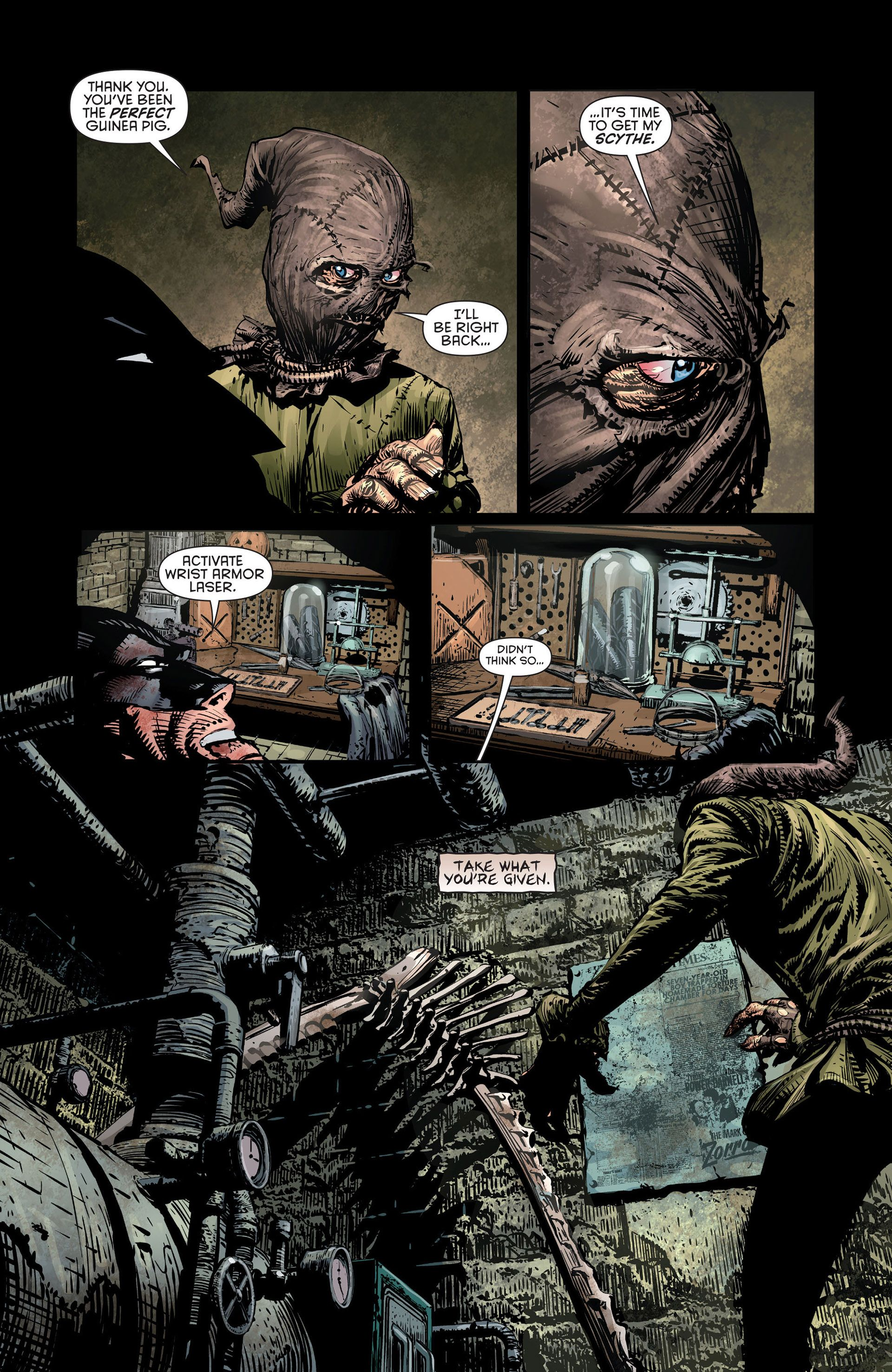 Pin by Sam Rodriguez on Scarecrow's | Scarecrow dc, David finch