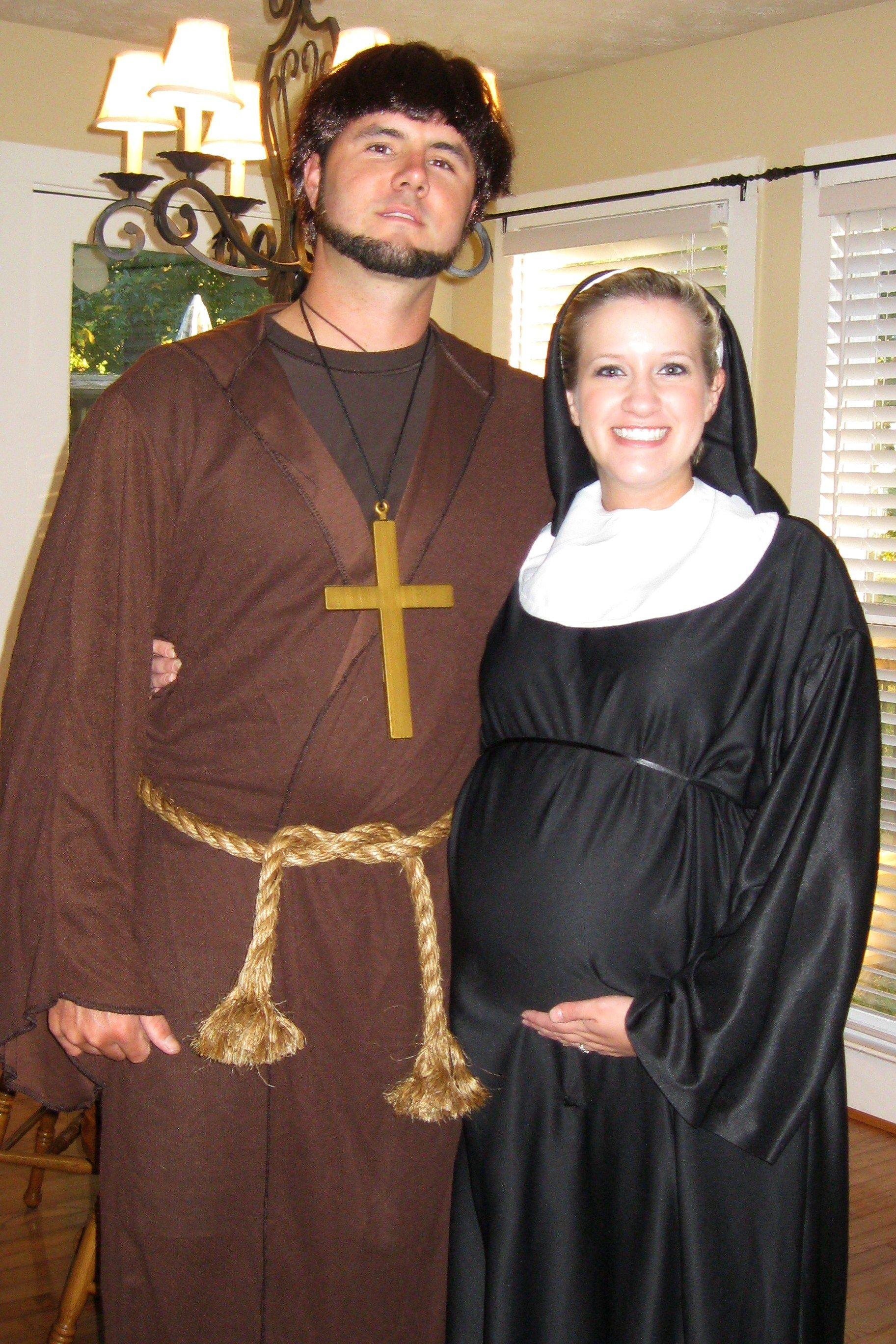 Pregnant Nunand Monk Halloween Costumes Pinterest Pregnant