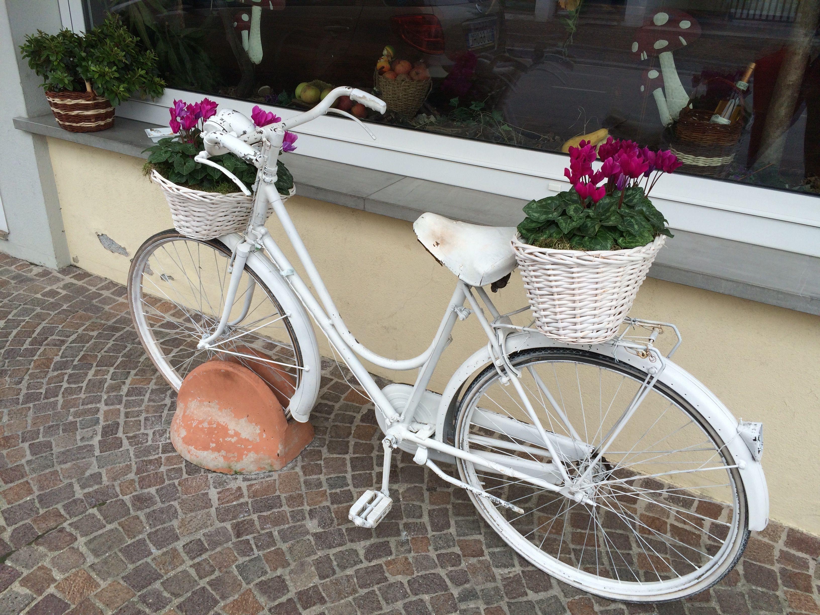 bicicletta a Tarcento (Udine, friuli)