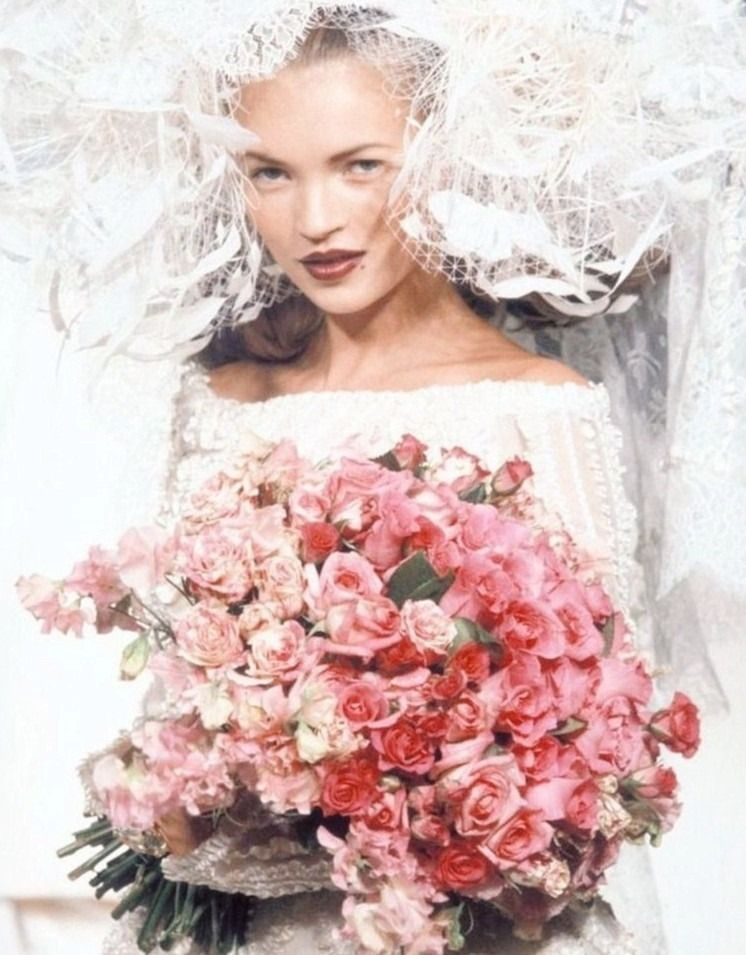 "A BIT MUCH "" Kate Moss at Vivienne Westwood Spring 1997"""