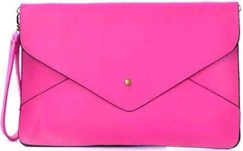 Large envelope clutch bag more at www.bagsoffavours.co.uk #pink #bblogers #fashion #bags #clutch