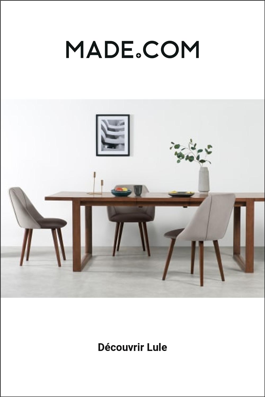 Made Com Chaises Salle A Manger Gris Home Decor Decor Furniture