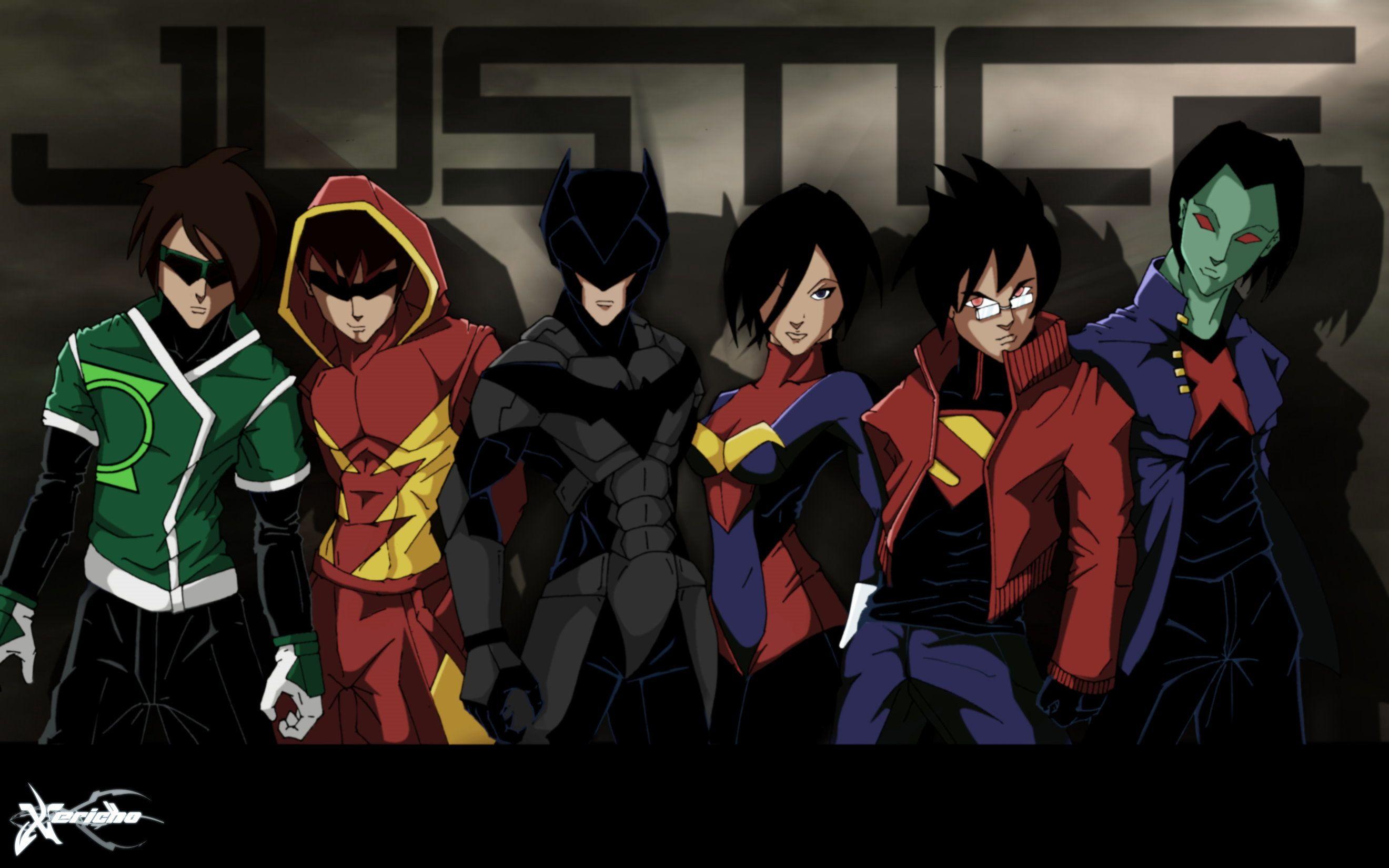 justice league anime (com imagens)   Liga da justiça sem