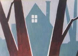 Gorgeously simple use of color and shape, atmosphere...sigh. maurice noble - Google Search