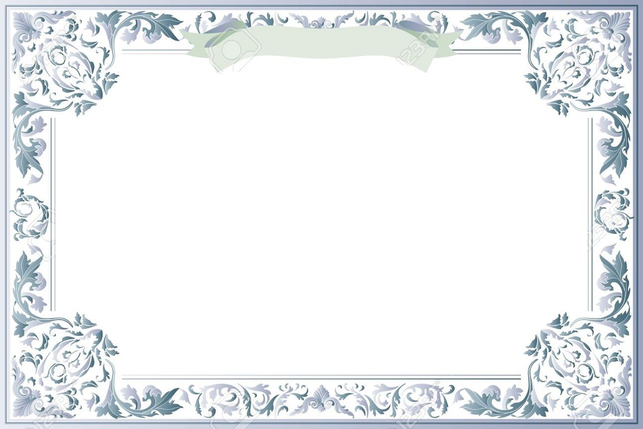 Blank Certificate Template for Best Solution | Chart or ...