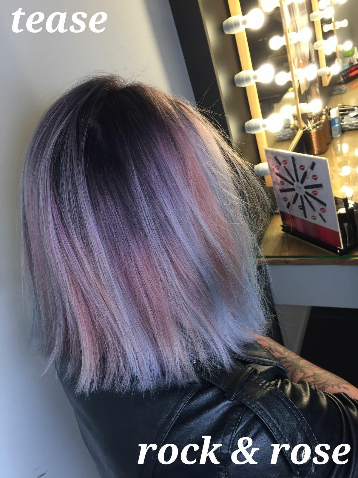 Colorblend lob decorbiekapper semi short hair u lob pinterest
