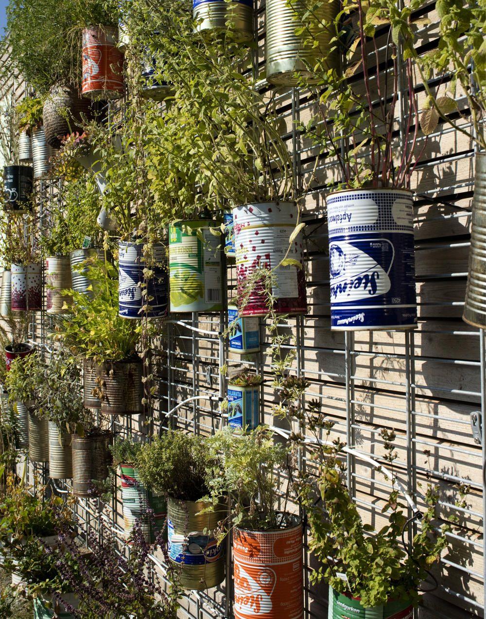 Upcycling: 7 Pflanzgefäße aus Verpackungsmüll #kräutergartenbalkon