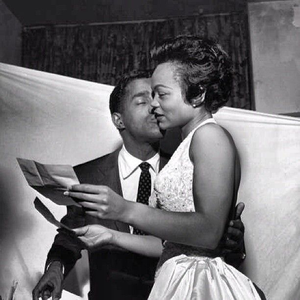Sammy Davis Jr & Eartha Kitt were engaged to be married at one point.