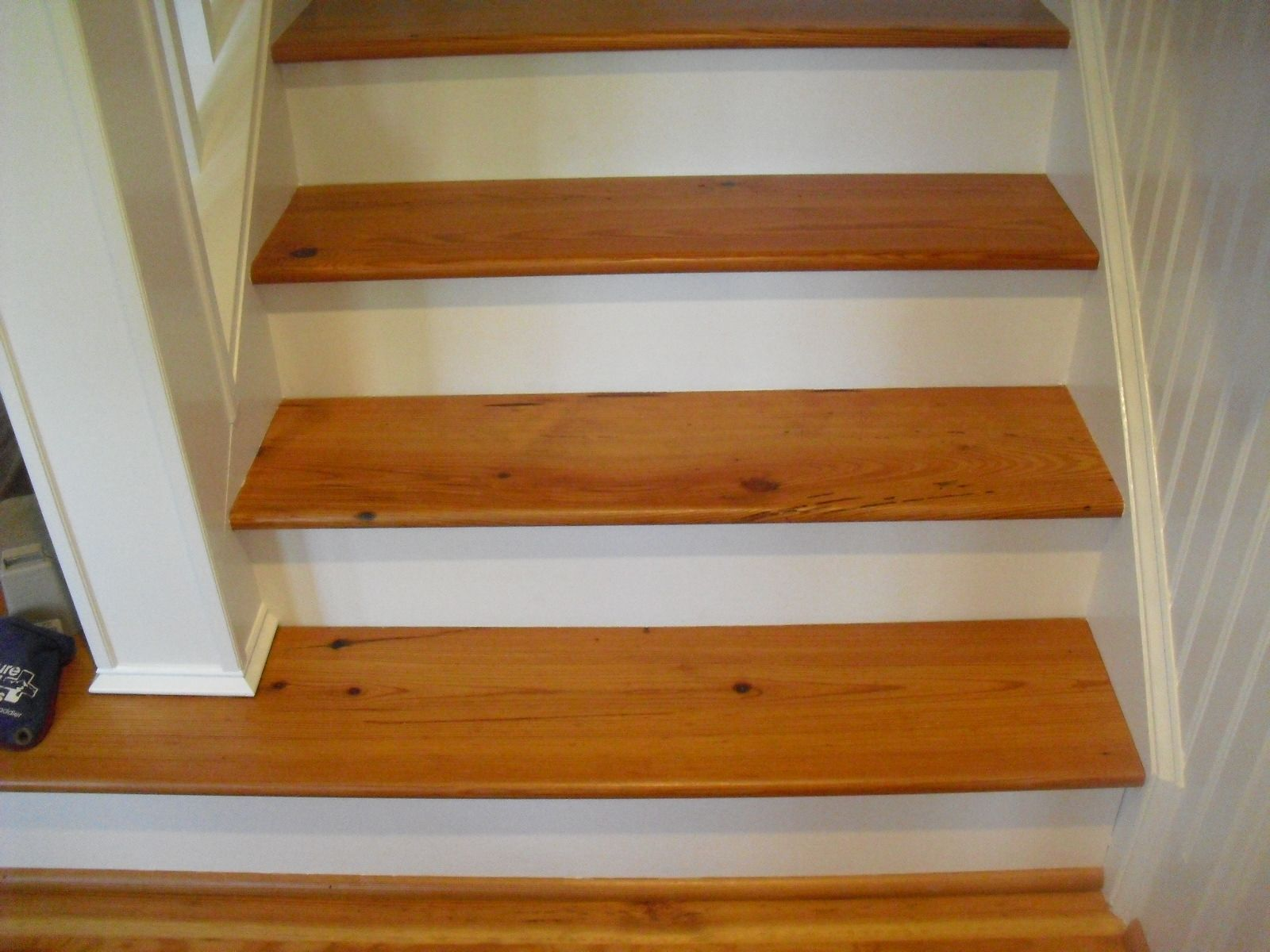 Antique Heart Pine Stair Treads  Olde Point  OldGrowthRiverwood.com