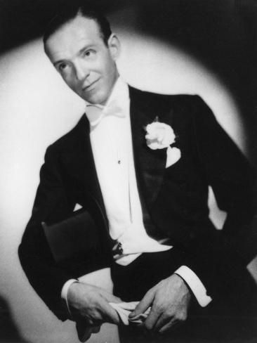 size: 24x18in Photographic Print: Fred Astaire, American Dancer, Actor and Film Star, C1938 by Laszlo Willinger : Botanical