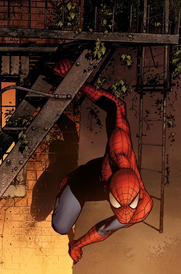 #Spiderman #Fan #Art. (Marvel Adventures: Spider-Man Vol.1 #41 Cover) By: Sean Murphy. ÅWESOMENESS!!!™ ÅÅÅ+ (NO RED MARVEL BANNER AT BOTTOM)