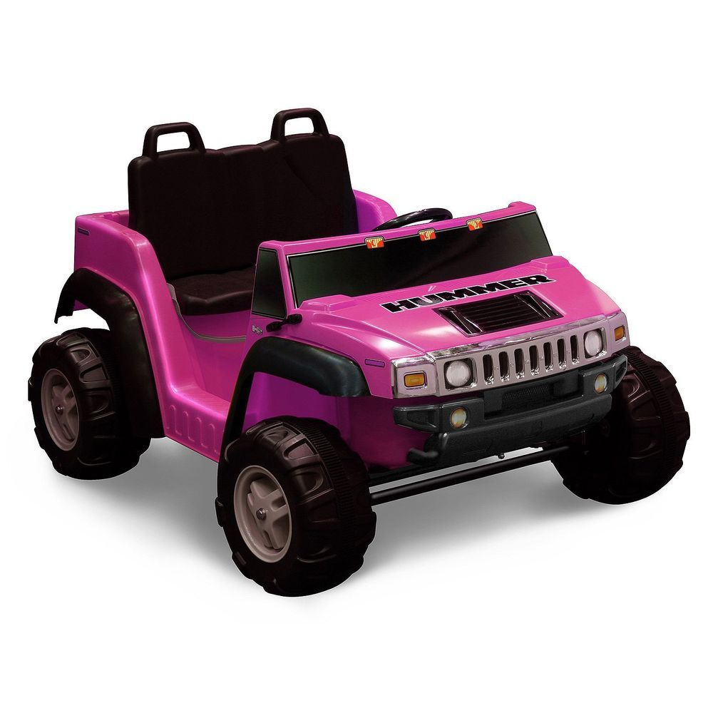 Kid Motorz Seater Pink Ride On Hummer Electric Cars For