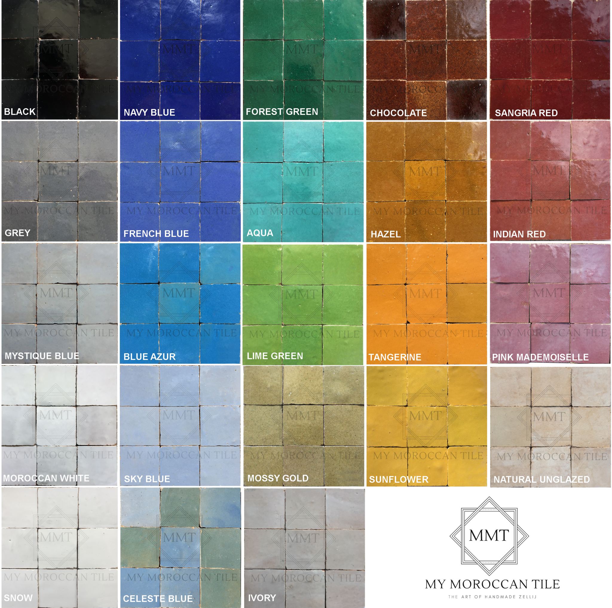 Photo of My Moroccan Tile Colors