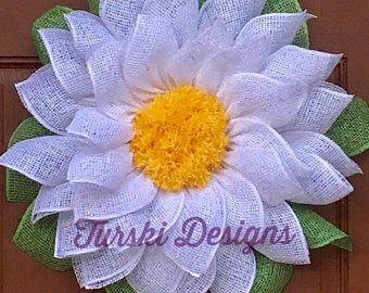 Photo of Sunflower Wreath, Lavender Flower Wreath, Lavender Wreath, Spring Wreath, Wreath, Floral Wreath, Sunflower,Door Wreath, Front Door Deco