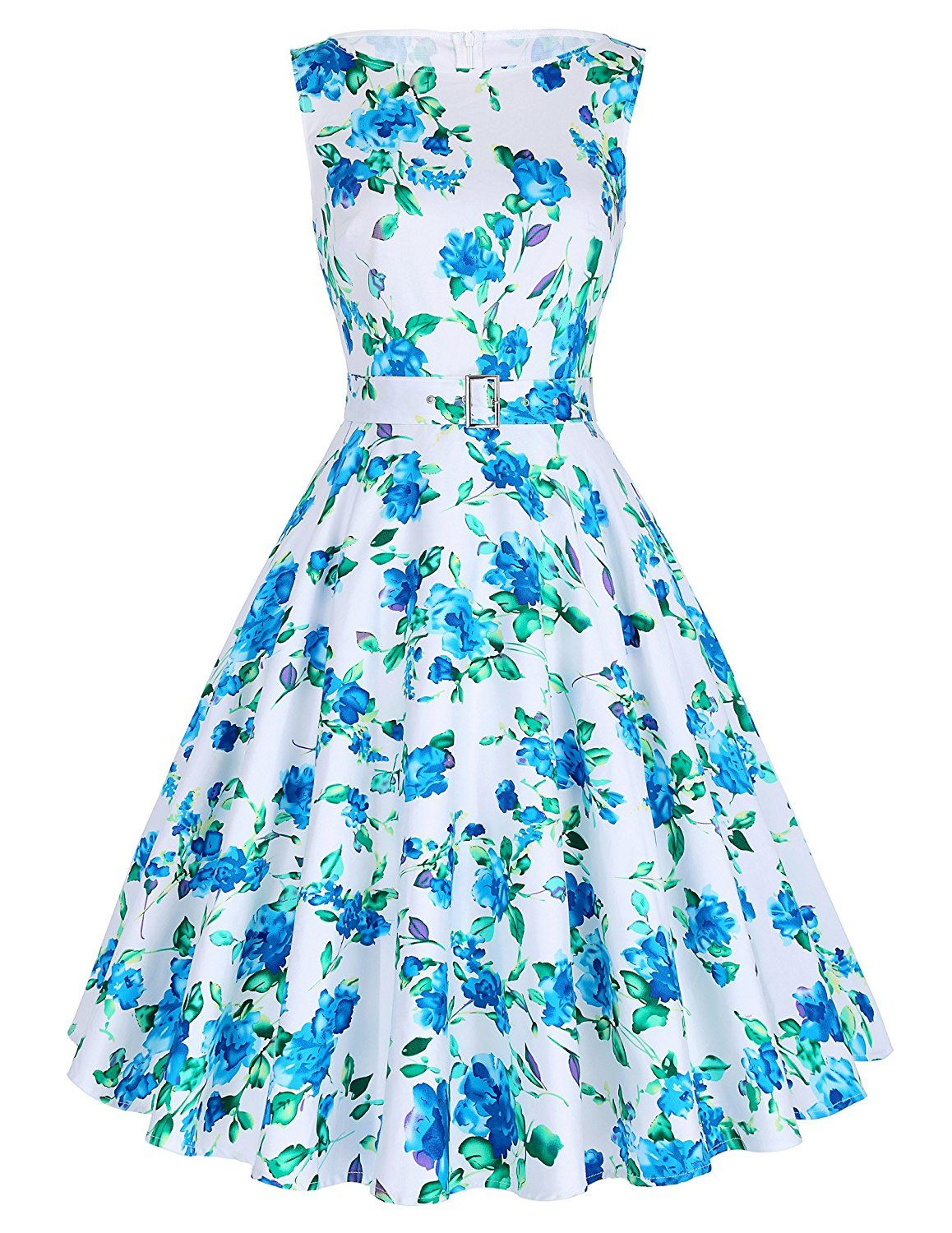 Belle Poque Belted 1950s Vintage Retro Swing Dress 2017 New ...