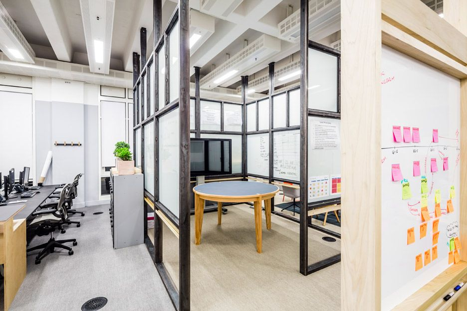 collaborative office space. APA Designs \ Collaborative Office Space T