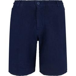 Photo of Herren Ready to Wear – Gerade geschnittene Solid Leinen-Bermudashorts für Herren – Bermuda – Baron
