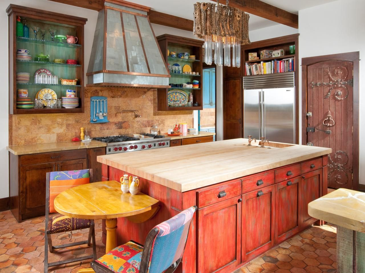 pictures of small kitchen design ideas from hgtv   kitchen