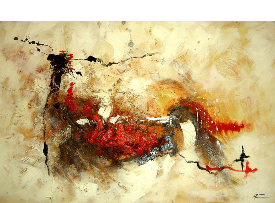 Cuadro pintura abstracta fire no disponible en - Portobellostreet es ...