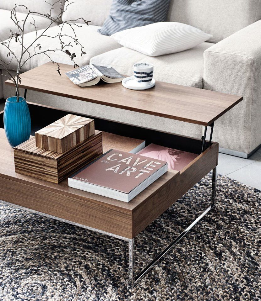 Delightful BoConcept Functional Coffee Table
