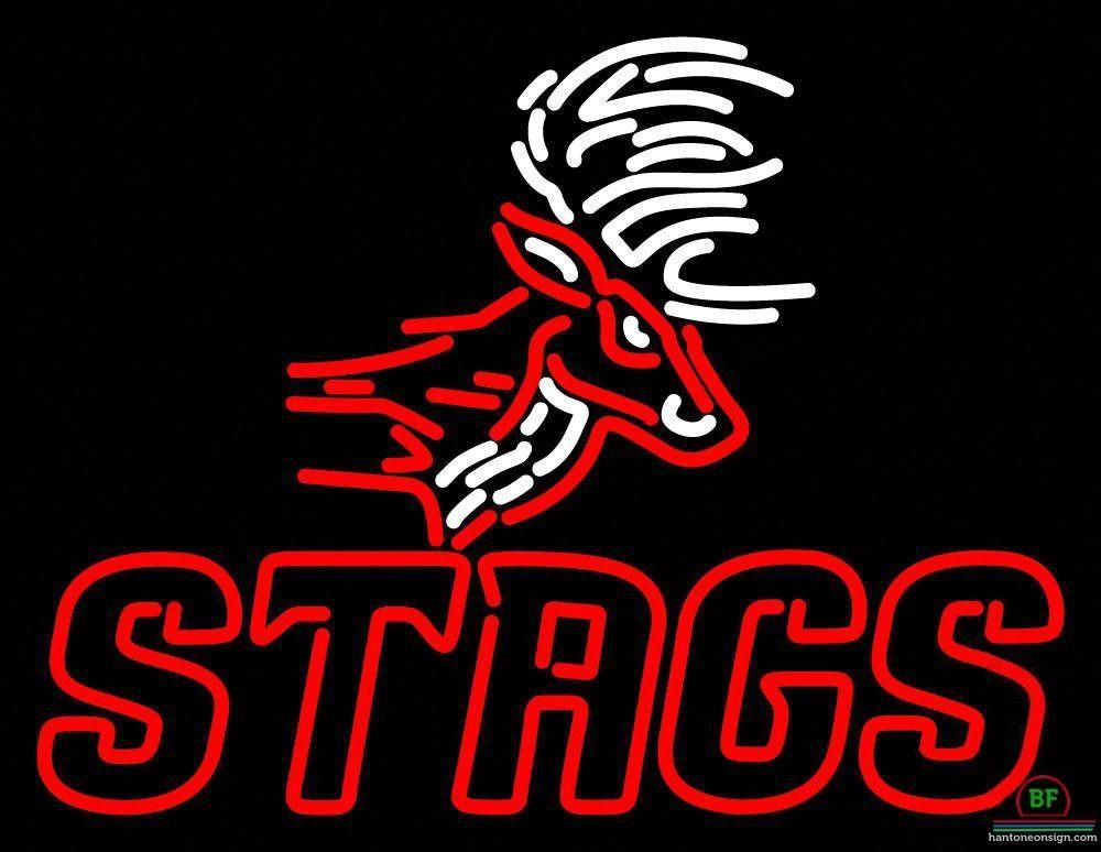 Fairfield Stags Neon Sign NCAA Teams Neon Light