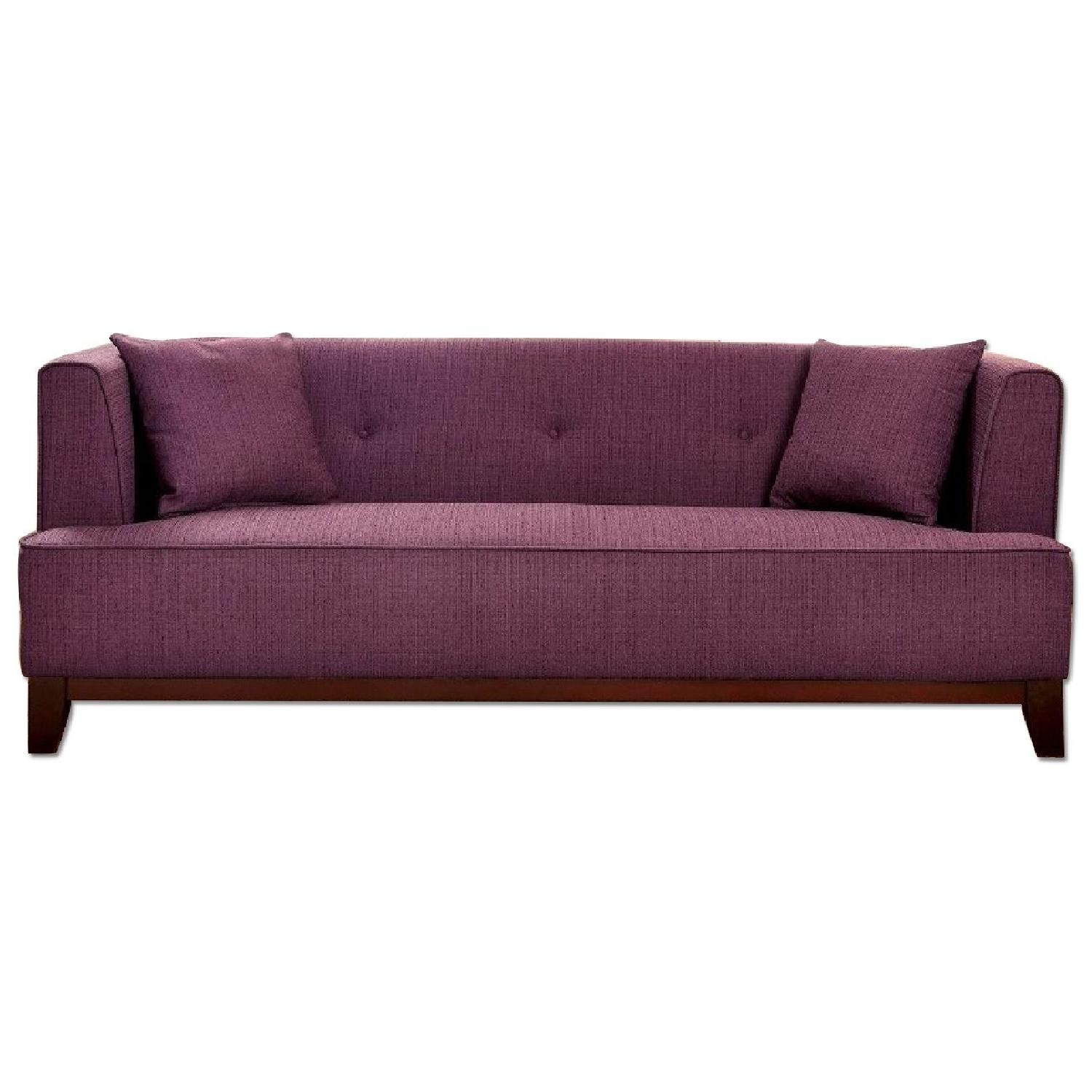 Furniture of America Sofia Purple Sofa Sofas