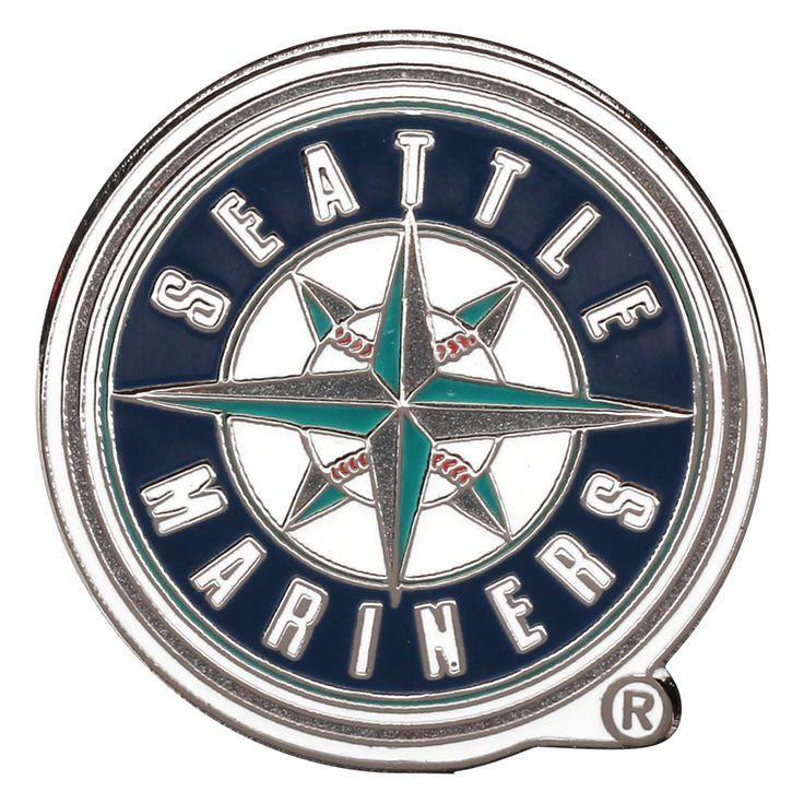 Seattle Mariners WinCraft Logo Team Pin Gold 5.59