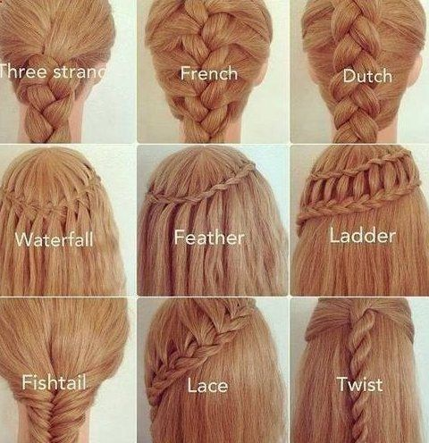 22 Gorgeous Braided Hairstyles for Girls | Hair style, Updos and ...