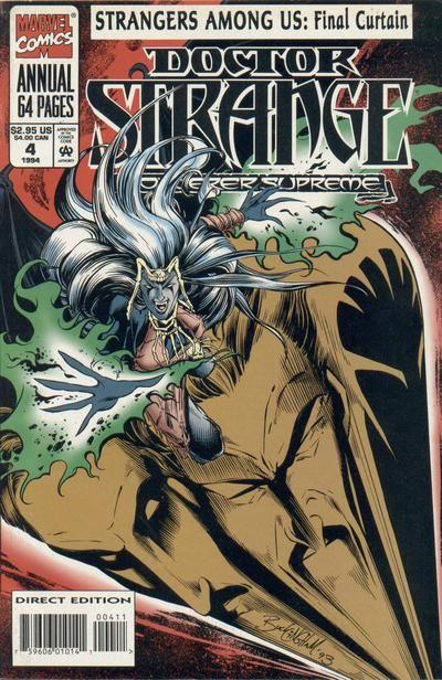 Doctor Strange - Sorcerer Supreme Annual # 4 by Mark Buckingham