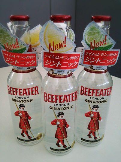 『ビーフィータージントニック』275ml  プレミアムジン「ビーフィーター」を使用した、レモンとライムの香りが爽やかなこだわりのジントニックです。  さっぱりとした甘さで、飲みやすい味わいです♪  本格的なジントニックが手軽にお楽しみいただけます(^^)b  お問い合わせは和光酒販まで!! 0234-41-0306