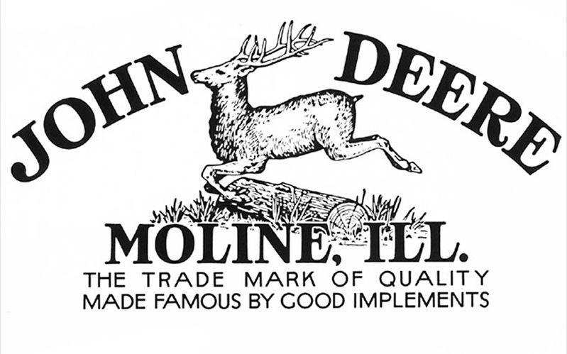 john deere logo john deere 1912 logo logo s pinterest john Husqvarna Lawn Tractors john deere logo john deere 1912 logo