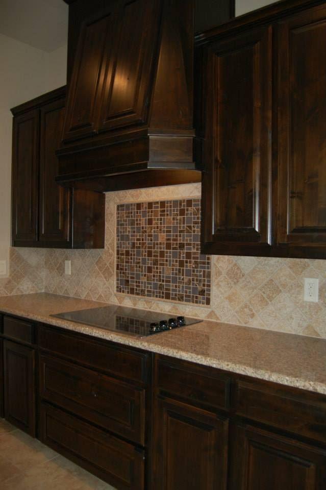 Kitchen Decorative Tile Backsplash And Tumbled Marble Tiles