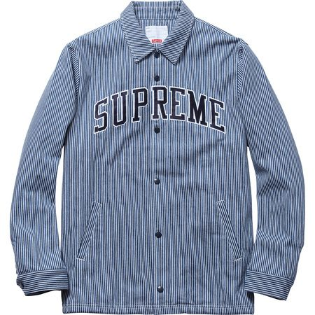 Hickory Stripe Denim Coaches Jacket Clothes I D Like To