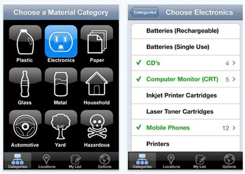 Recycling Yep, there's an app for that Printer