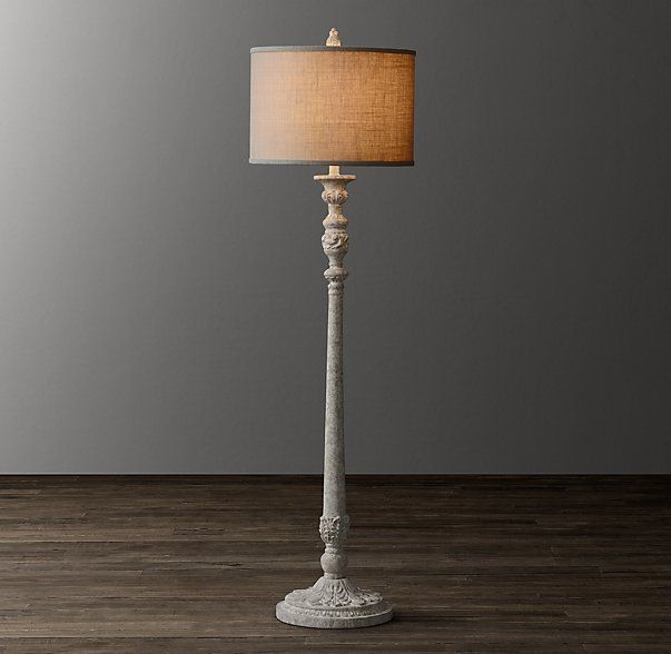 Baroque candlestick floor lamp base den pinterest lamp bases baroque candlestick floor lamp base aloadofball Choice Image