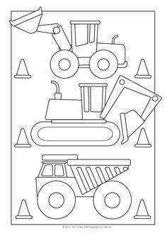 construction site coloring pages bing images - Construction Signs Coloring Pages