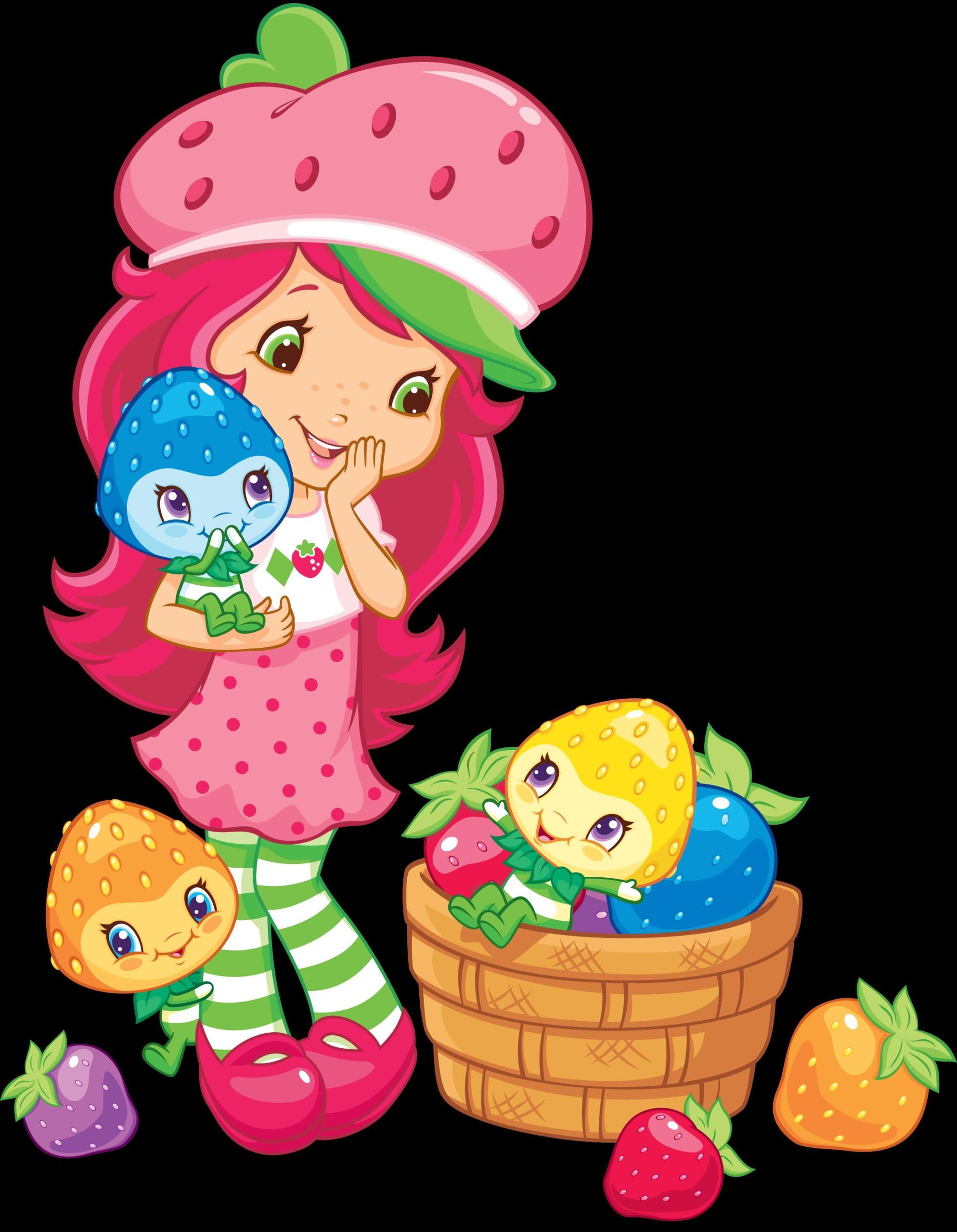 Strawberry Shortcake Backgrounds