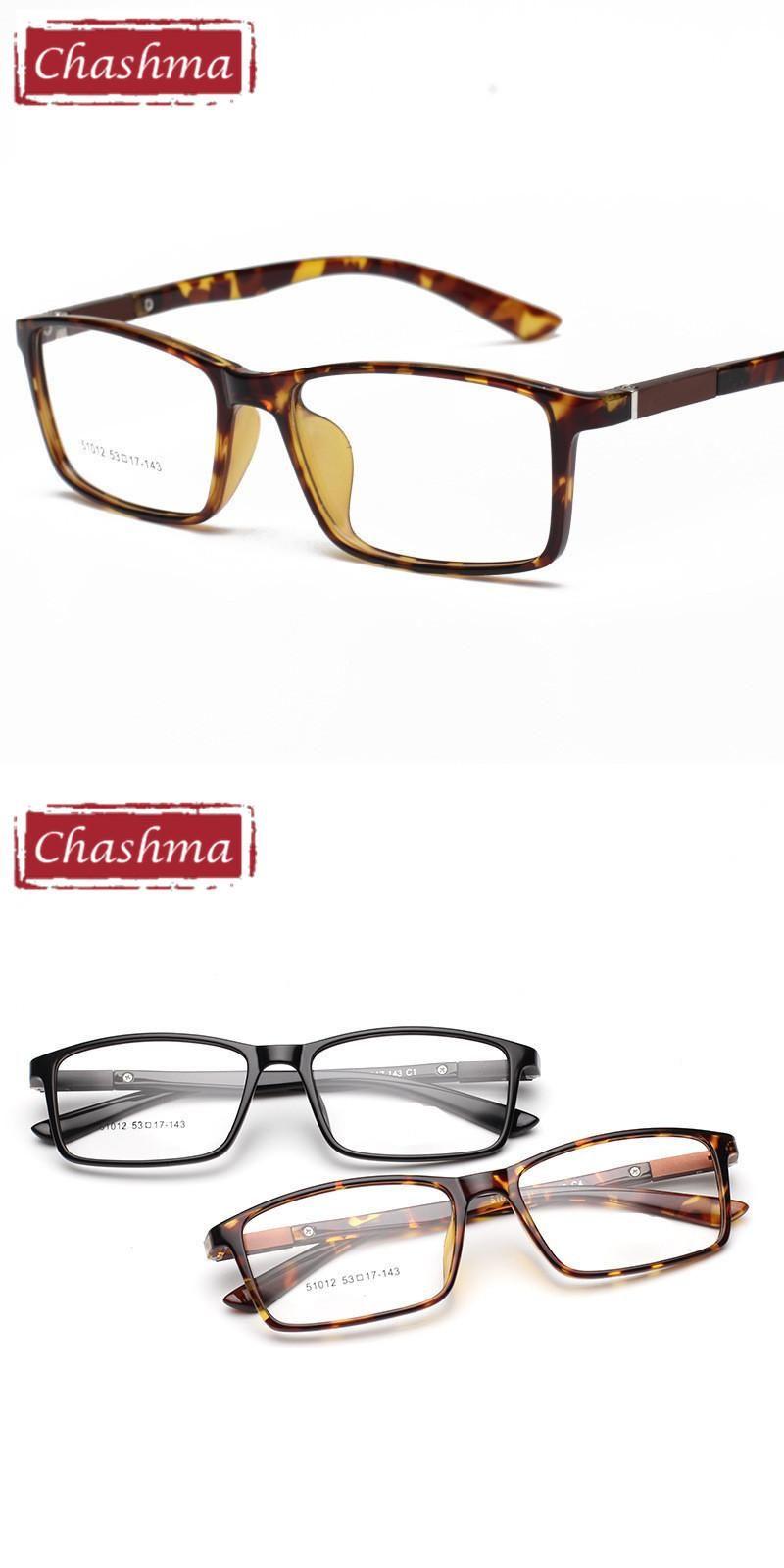 Chashma Slim TR 90 Light Eye Glasses Rectangle Frame Girl and Boy ...