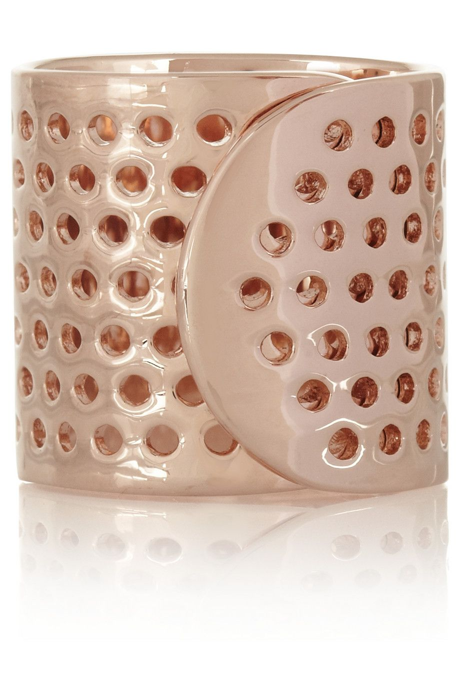 Jennifer Fisher | Bandaid rose gold-plated ring | NET-A-PORTER.COM