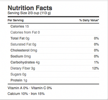 Pasta Zero Spaghetti Nutritional Infomration Coconutmilknutrition Coconut Milk Nutrition Pasta Nutrition Nutrition