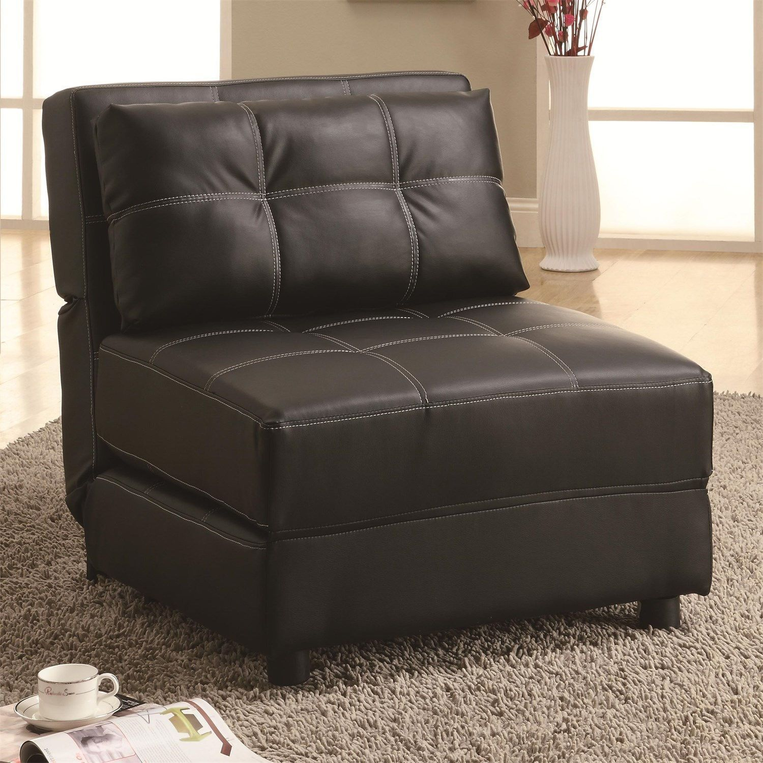 Coaster Furniture 300173 Accents Groups Lounge Chair Sofa Bed In  # Muebles Coaster