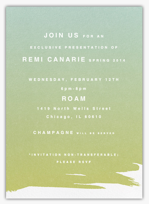 follow us on #facebook for the chance for you and a guest to attend the #exclusive launch of #remicanarie #ss14 launch at #roamchicago! www.facebook.com/1419NWells RSVP REQUIRED. Only 10 spots available!