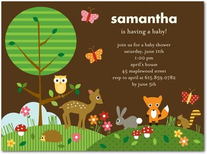 Woodland animals baby shower themes cheerful woodland forest baby woodland animals baby shower themes cheerful woodland forest baby shower invitations custom baby shower filmwisefo