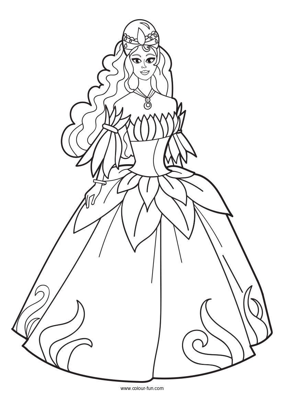 10++ Princess dress coloring pages ideas