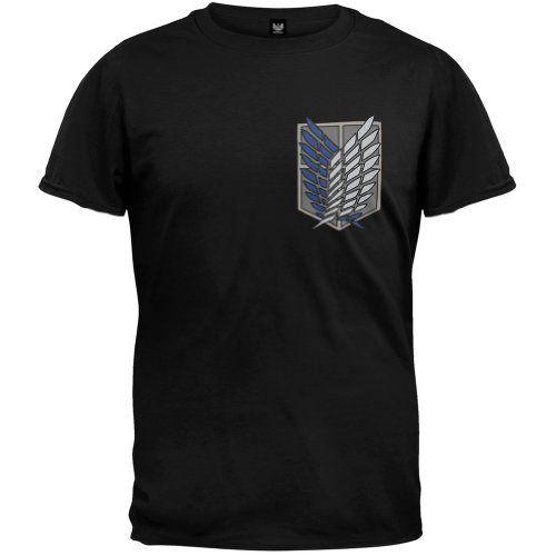 Attack On Titan – Survey Corps T-Shirt - http://bandshirts.org/product/attack-on-titan-survey-corps-t-shirt/